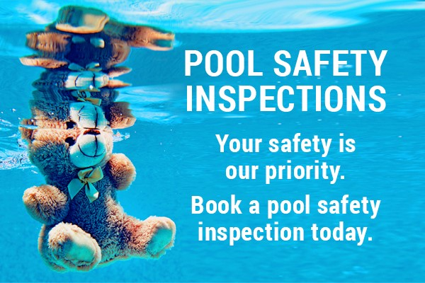 pool safety inspections, your safety is our priority. Book a pool safety inspection today.